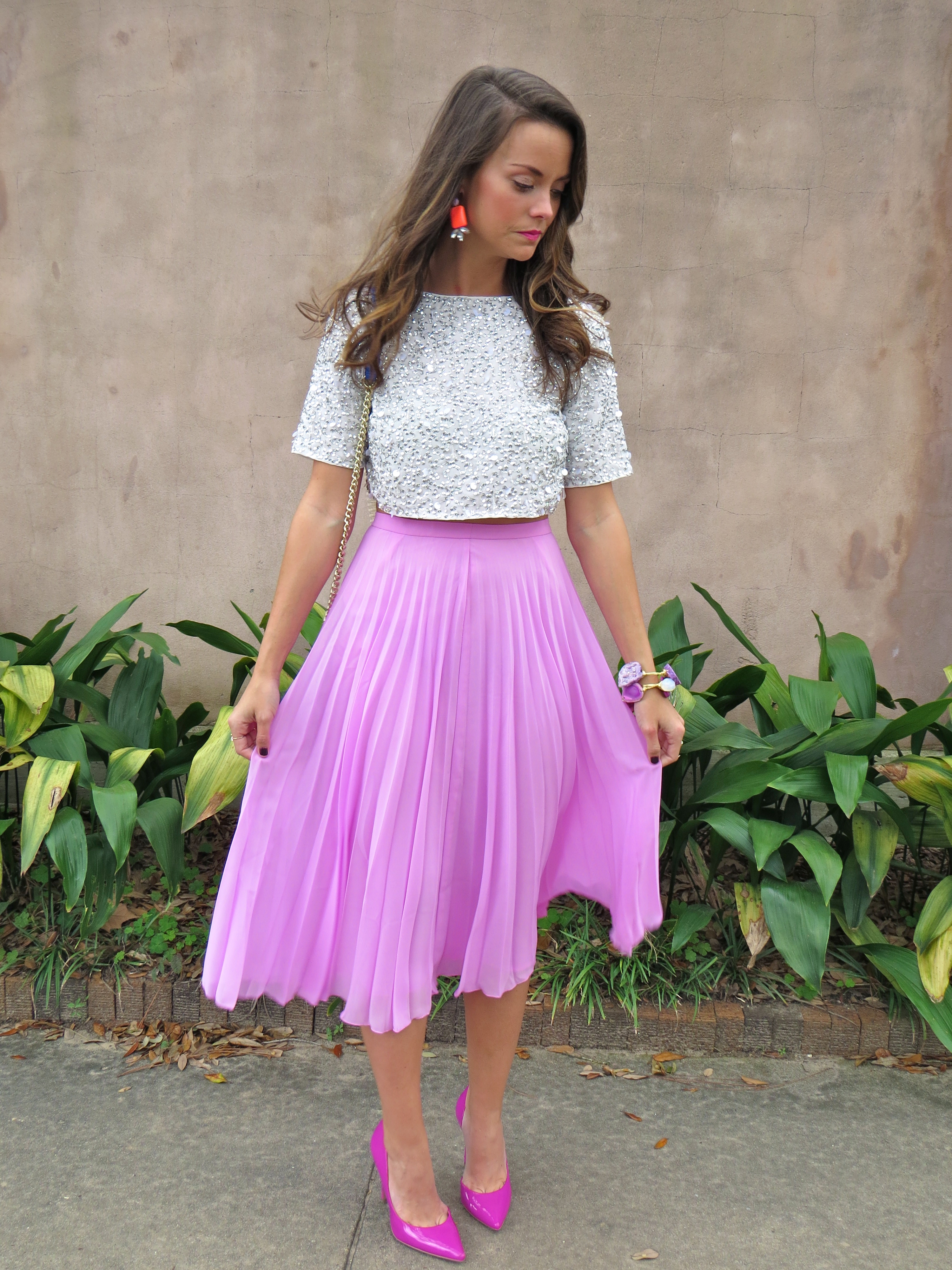 Asos Pleated Skirt - Dress Ala