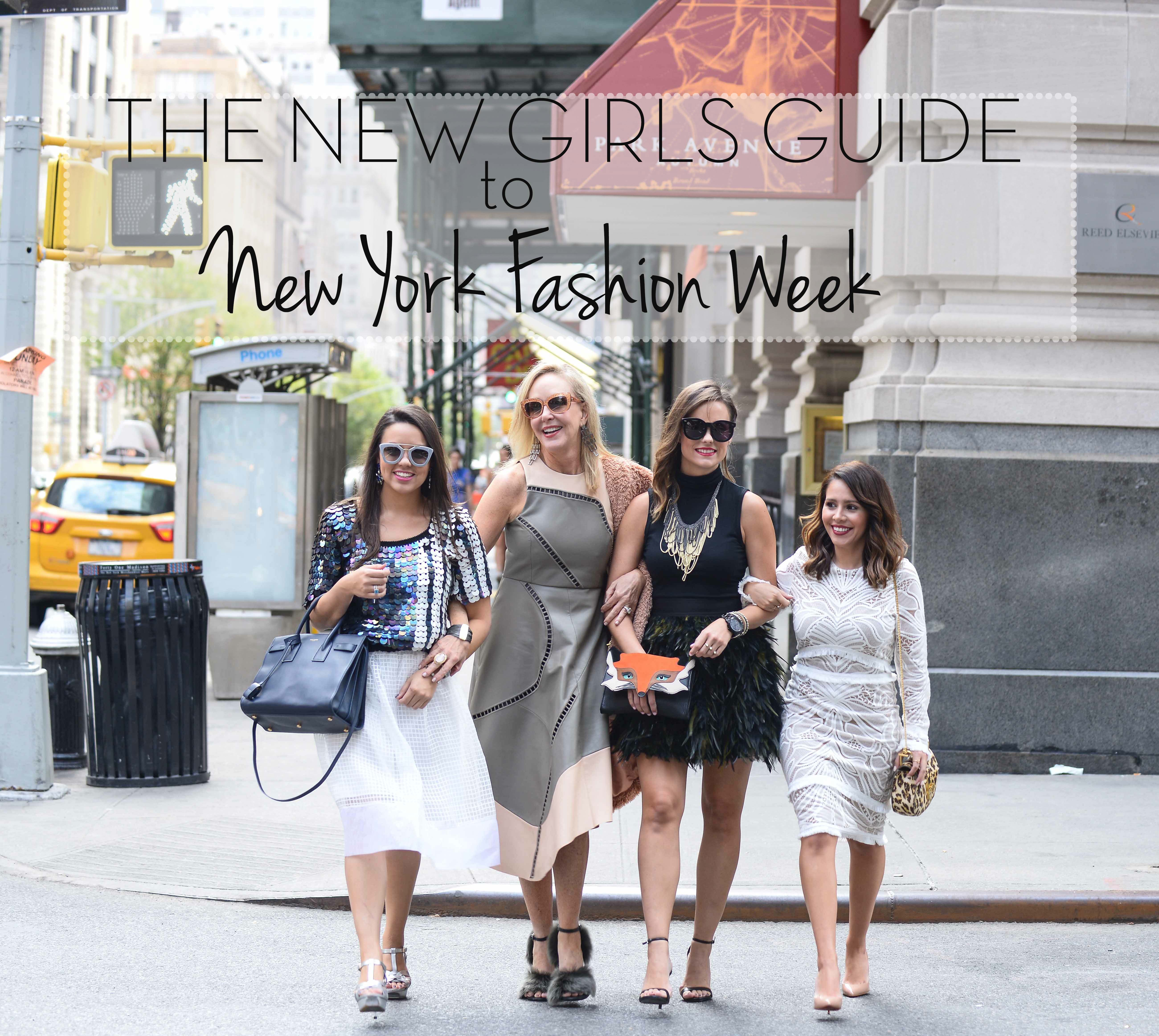 The New Girls Guide to NYFW