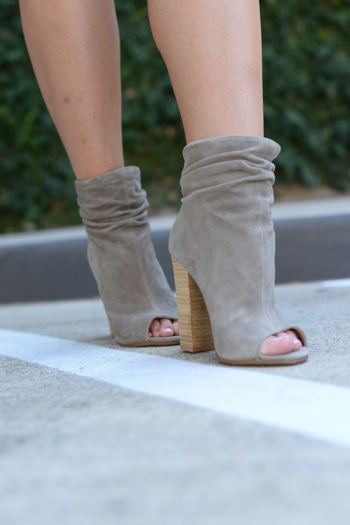 KC 'Laurel' Peep Toe Bootie
