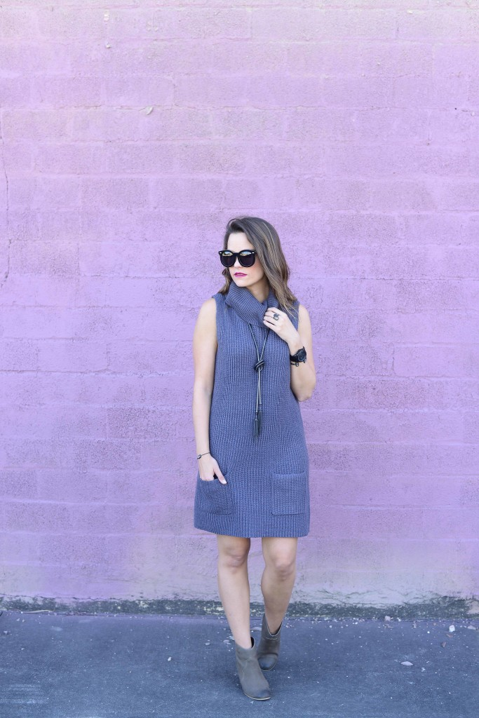 Leith Turtleneck Dress