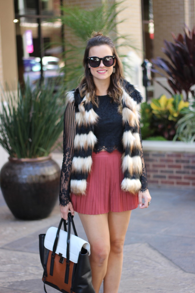 Gianni Bini Sheena Faux-Fur Vest