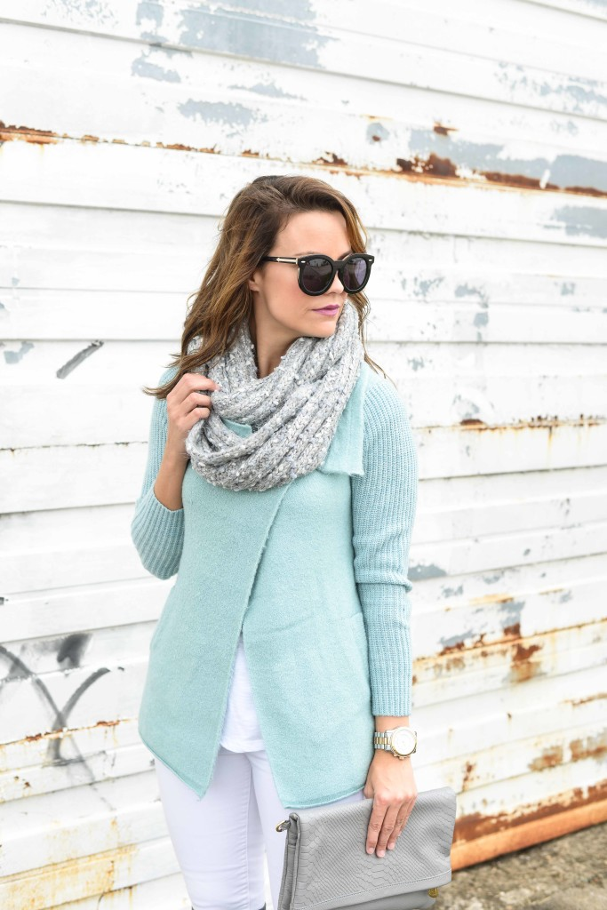 ANTHROPOLOGIE Draped Boucle Cardigan