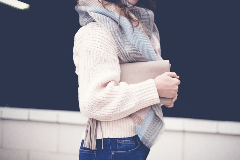 Topshop Cable Knit Sweater, Topshop Boyfriend Jeans