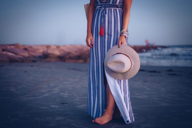 ESSIE STRIPE MAXI DRESS | Houston Fashion Blog | The Styled Fox
