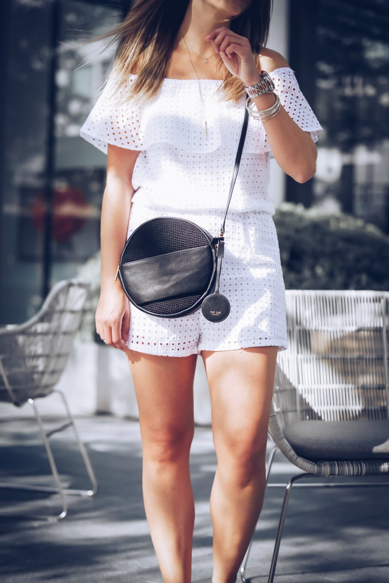 LET'S BE FRIENDS, BUDDY LOVE LOLO WHITE ROMPER