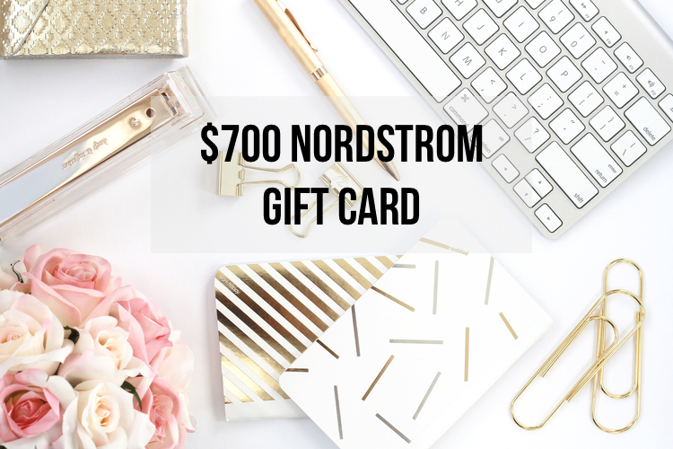 $700 NORDSTROM GIFT CARD