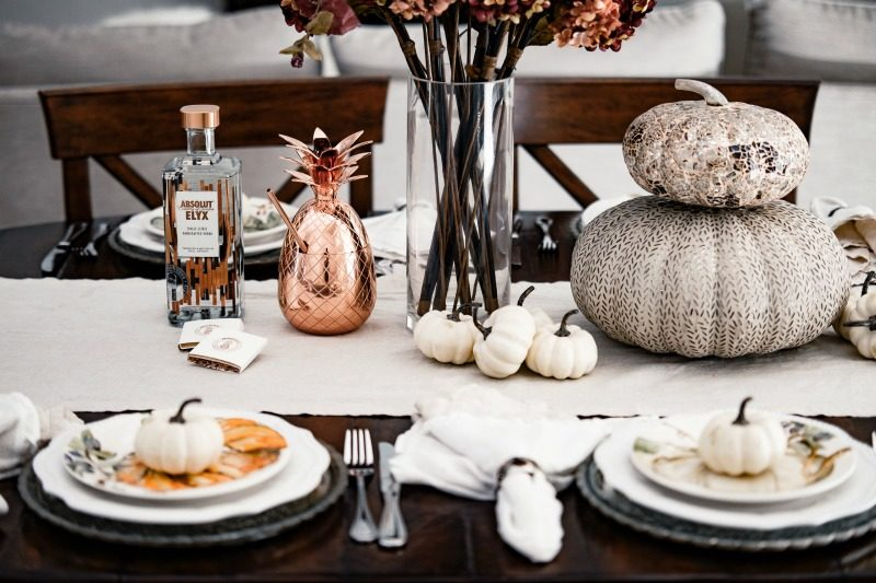 FALL ENTERTAINING WITH ABSOLUT ELYX
